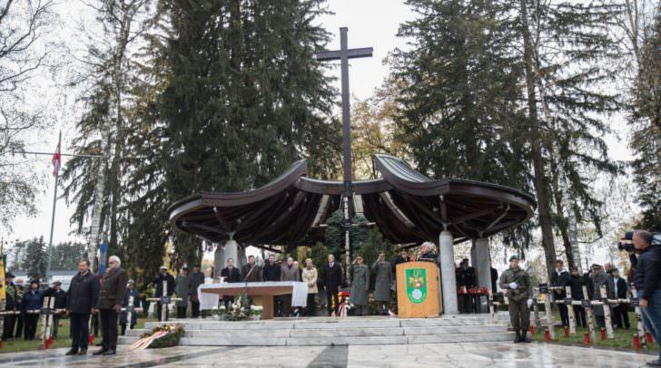 Am 2. November fand die alljährliche militärische Allerseelenfeier statt.