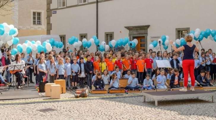 Schulchöre aus der Landeshauptstadt werden Klagenfurt im Konzerthaus ein musikalisches Geburtstagsgeschenk überbringen