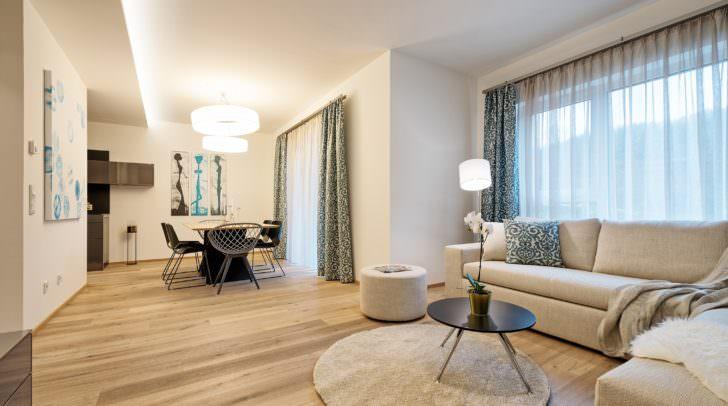 Für alle Neugierigen gibt es am Landsitz Villach eine völlig möblierte, 98 m² Maisonettewohnung.