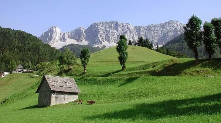 Die Koschuta südlich von Klagenfurt gehört auch zu den neuen Natura 2000-Gebieten