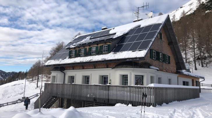 Am Donnerstag wurde die Klagenfurter Hütte feierlich neu eröffnet.