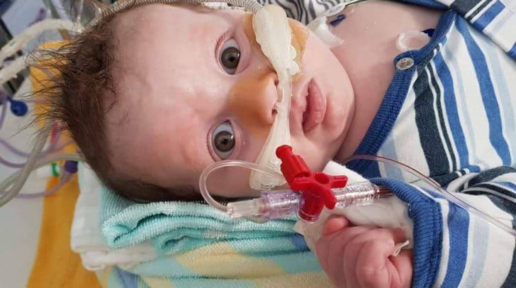 Baby Niklas ist derzeit im LKH Villach - sein Gesundheitszustand hat sich verschlimmert
