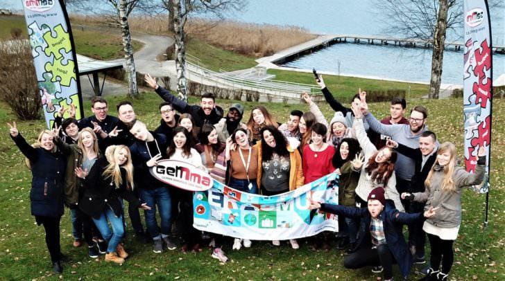 30 Jugendliche aus 12 Ländern trafen sich im Jugendgästehaus Cap Wörth.