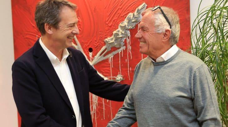 v.l.n.r.: Werner Taurer und Manfred Kohl
