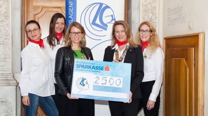 v.l.n.r.: Arpine Jenderedjian, Julia Baumgartner, Mag.a Christin Einsiedler, Anita Merl, Doris Kucher
