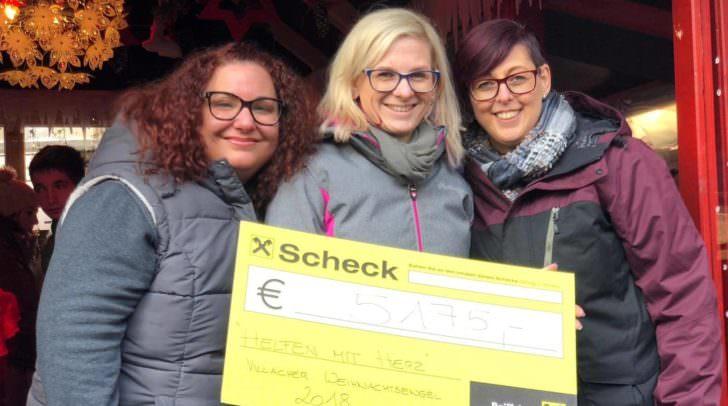 5.175 Euro für in Not geratene Familien aus Villach konnten gesammelt werden.