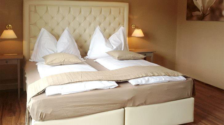 In diesem traumhaften Bett könntest auch du bald schöne Träume haben.