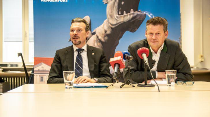 Mit 7. März 2019 tauschen Wolfgang Germ und Christian Scheider die Rollen.