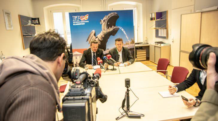 Pressekonferenz am Mittwoch