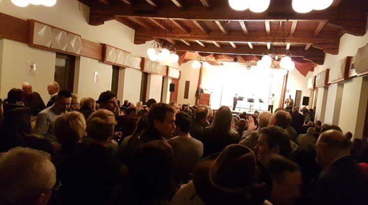 Zahlreiche Bleiberger nahmen an dem Bürgerempfang teil.