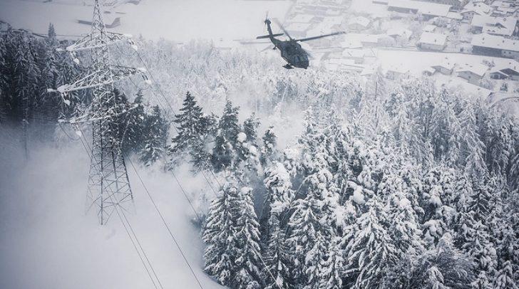 Ein Schneechaos wie in Salzburg ist in Kärnten durch das Mittelmeertief