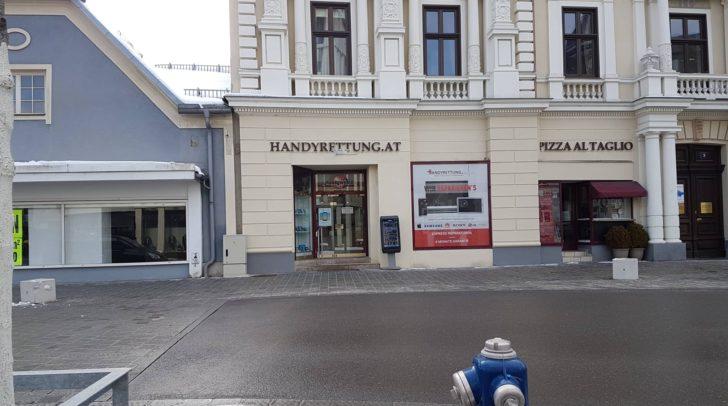 Der Laden wird aktuell zum Verkauf angeboten.