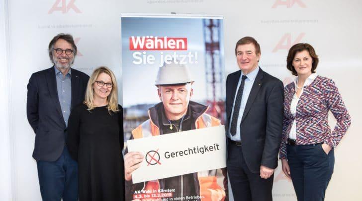v.l.: Gerwin Müller, Monika Hundsbichler, Günther Goach, Ursula Heitzer ©