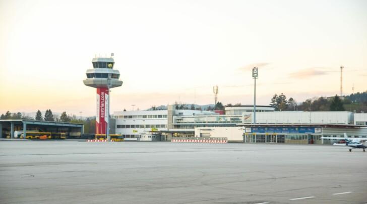 Am Flughafen Klagenfurt musste der Kärntner Pilot eine Notlandung durchführen.