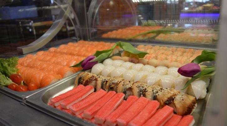 Liebhaber von Sushi, werden bei THE WOK bestimmt fündig!