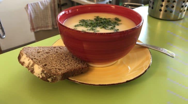 Bereits ab 4.50 Euro kann man eine große Portion Suppe genießen