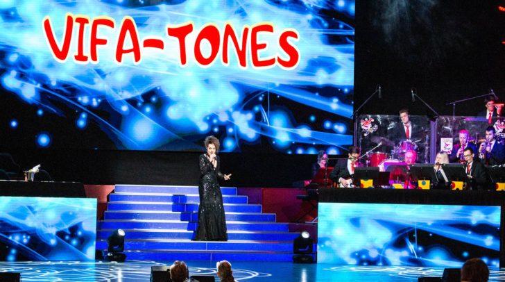 Die Vifa-Tones feierten Premiere zur Premierensitzung.