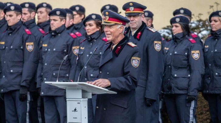 Ab 1. Feber treten die 24 Beamten ihren Dienst bei der Kärntner Polizei an.