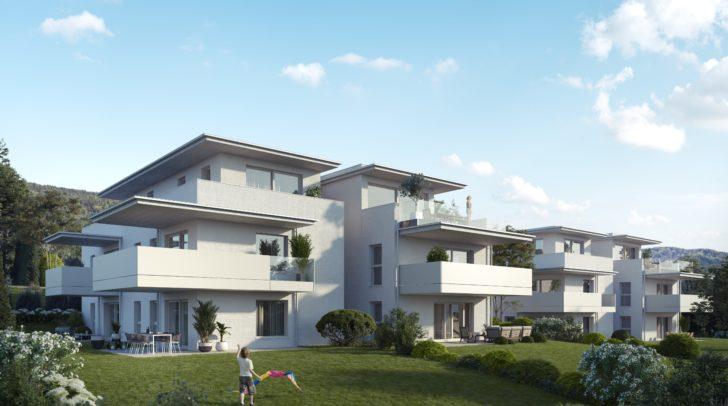 Leben über den Dächern von Villach – die Penthousewohnungen machen Träume wahr!