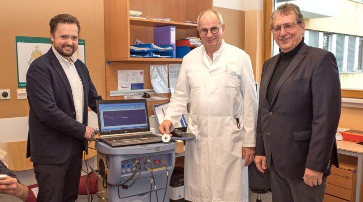 Das Gerät verbessert die Diagnose und Therapie bei Schmerzpatienten deutlich.