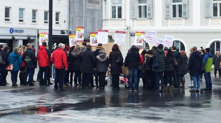 Protest-Konferenz am Dienstag in Klagenfurt