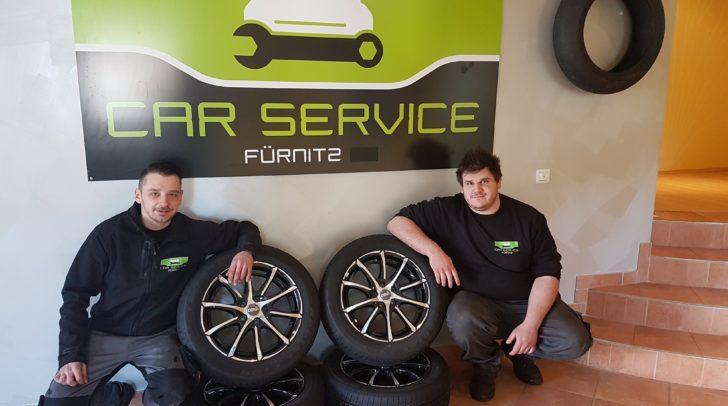 Christian Keuschnig und sein Team vom Car Service Fürnitz - die Autoprofis