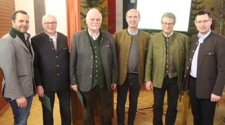 Alois Jarnig und Ferdinand Tarmann wurden mit dem Ehrenzeichen