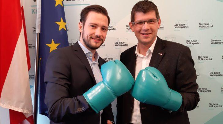Die Landesräte Martin Gruber und Sebastian Schuschnig sind sich einig, dass die Gemeinden mit ihren Investitionen ein wichtiger Impulsgeber für die regionale Wirtschaft sind.