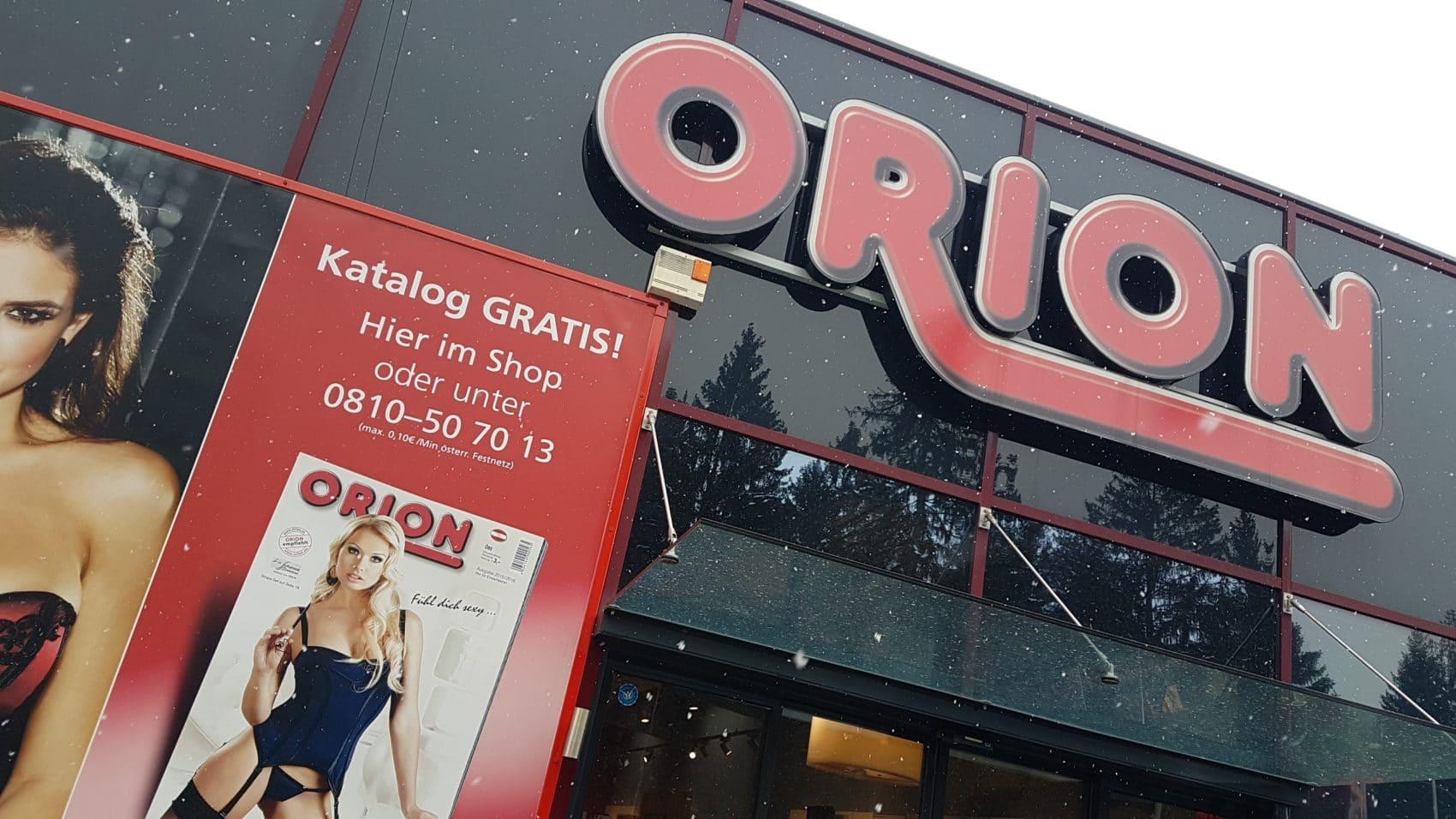 Sex shop orion