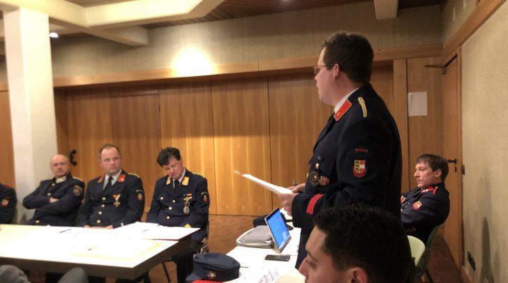An der Versammlung nahmen 34 Kameraden sowie einige Ehrengäste teil.