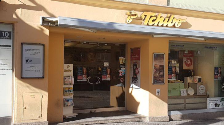 Die Tchibo-Filiale am Villacher Hauptplatz schließt mit 18. Februar.