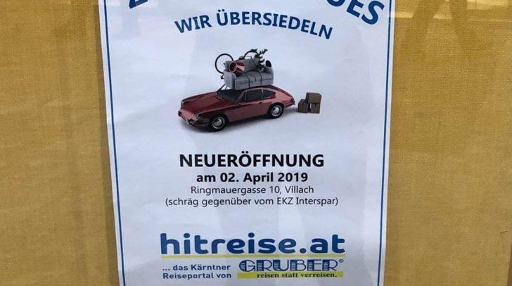 Am 2. April eröffnet das neue Reisebüro in Ringmauergasse.