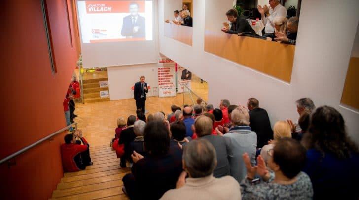 """AK-Präsident Günther Goach reagierte bereits gestern Abend während einer FSG Wahlkampfveranstaltung in Villach auf die Wortmeldung von Walter Rosenkranz (FPÖ): """"Ein Abrüsten der Worte ist dringend notwendig!"""""""