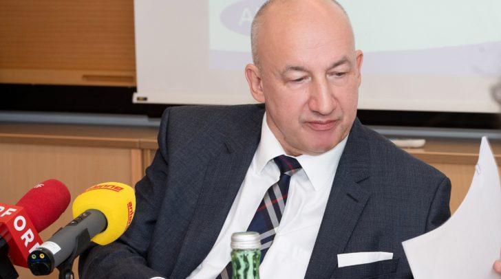 Nach 40 Jahren beim AMS steht nun für Franz Zewell die wohlverdiente Pension an.