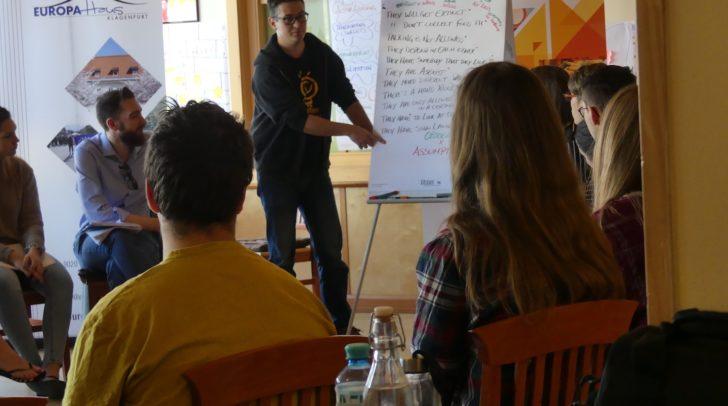 Workshops zu den facettenreichen Aufgaben von GruppenleiterInnen.
