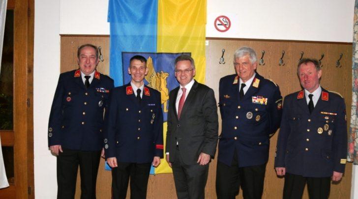 Christian Karlbauer wurde zum neuen Abschnitts-Feuerwehrkommandanten gewählt