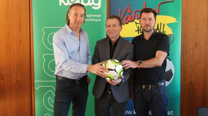 KFV-Geschäftsführer Mag. Richard Watzke, KFV-Präsident Mag. Klaus Mitterdorfer und KFV-Sportdirektor Wolfgang Robatsch.