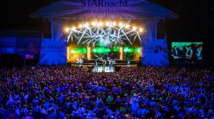 Jahr für Jahr lockt die Starnacht tausende Fans an den Wörthersee.