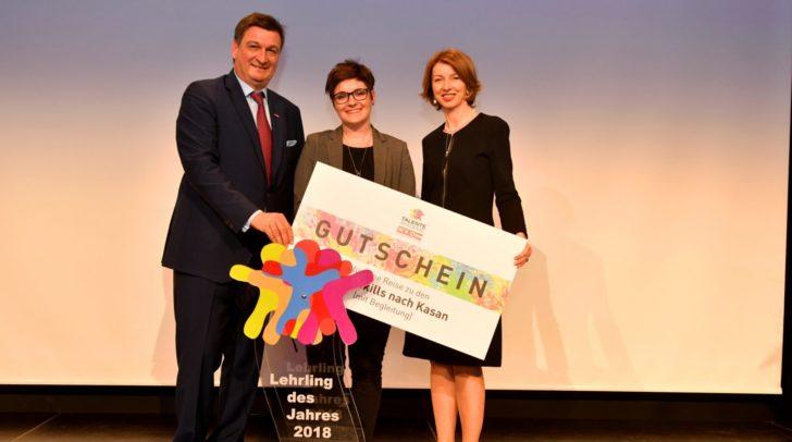 Präsident Jürgen Mandl, LH-Stellvertreterin Gaby Schaunig und