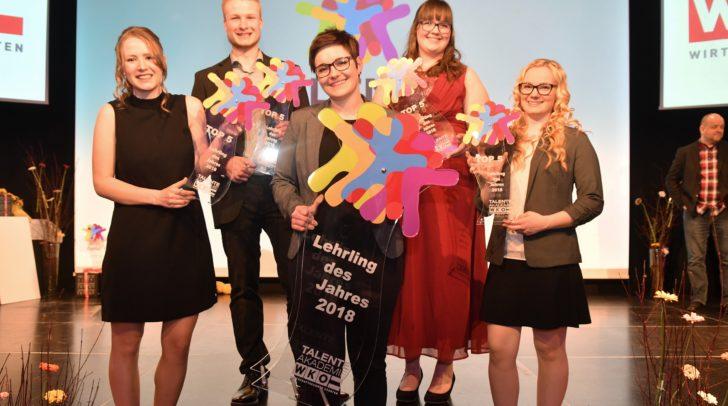 Die Top Five: Stefanie Gruber, Anja Lax, Michelle Strauss, Magdalena Schachner und René Grubelnig.