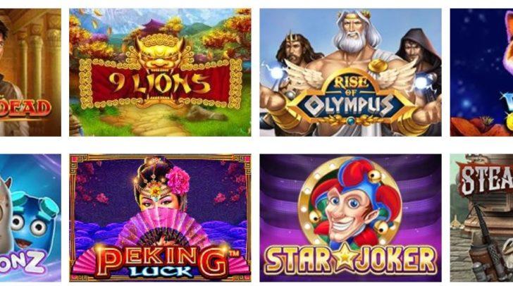 Kleine Übersicht der verfügbaren Spiele