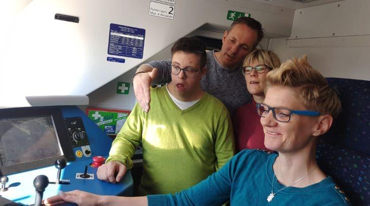 """Gamperl: """"Ich freue mich Menschen mit Behinderungen meinen Arbeitsplatz zu präsentieren."""""""