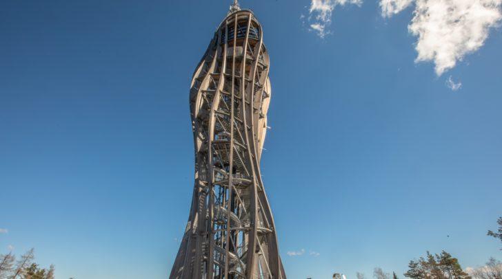 Der Lift des Pyramidenkogel-Turmes ist aktuell außer Betrieb.