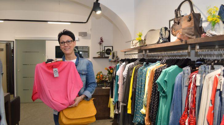 Die Modeboutique Mod(e)liza feiert Jahrestag in der Villacher Innenstadt:  Marlies Putzi feiert morgen, Freitag, und Samstag mit Kunden und Freunden.
