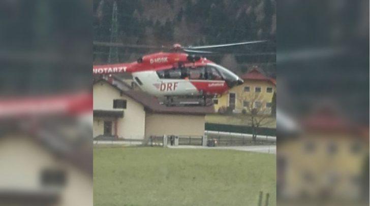 Aufgrund eines Traktorunfalles gab es heute ein Großaufgebot an Einsatzkräften in Pöckau.