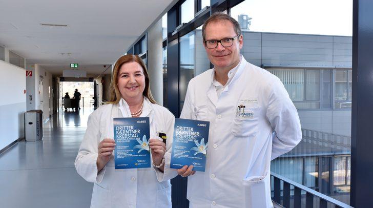 OÄ Dr. Ursula Pluschnig und Prim. Univ.-Prof. Dr. Wolfgang Eisterer