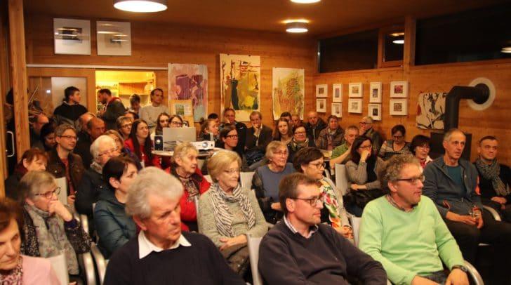 Der Film über die Minderheitenfeststellung in Kärnten fand großes Interesse bei den Zuschauern.
