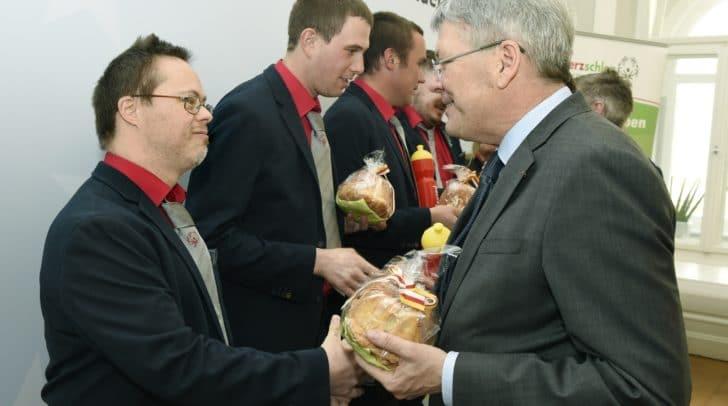 Claus Kaltenbacher und LH Peter Kaiser