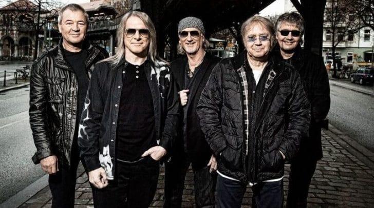 Die englische Kult-Hard-Rock-Band Deep Purple kommt am 1. Dezember nach Klagenfurt