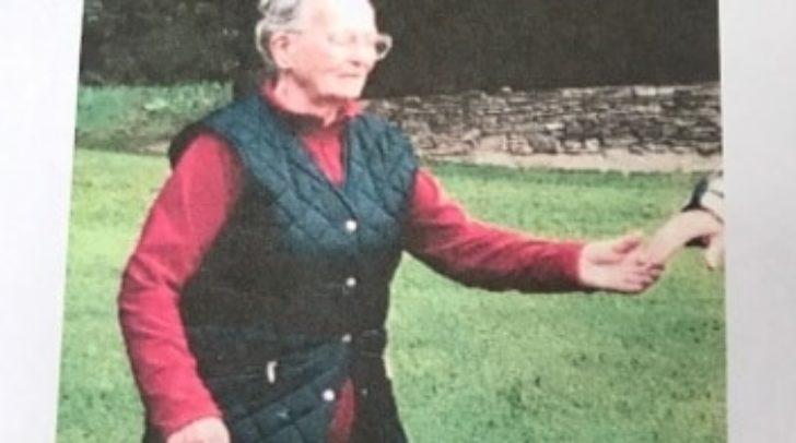 Die 84-Jährige wird seit 8.30 Uhr am 7. März vermisst.